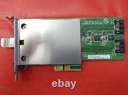 10 X Xyratex PCI-E Hard Disc Adapter Card 1.8 mSATA Slot 0959303-05