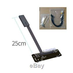 ADT-Link M. 2 Key NVMe External Graphics Card Stand PCI-E Adapter Cable R43SG-TB3