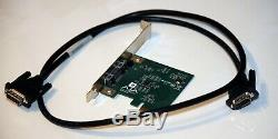 AJA IO Express HDSDI HDMI with PCIe Card, Adapter & Cord