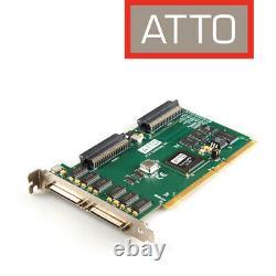 Atto Express PCI UL3D Ultra 3 SCSI Card Host Adapter für Mac u. A. 0079-PCBX-001