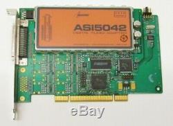 AudioScience ASI5042 Digital Audio Adapter Balanced Analog PCIe Sound Card