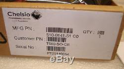 Chelsio T580-SO-CR dual 40gb PCI-E MSIP-REM-CC2-T580-SO-CR Adapter Card