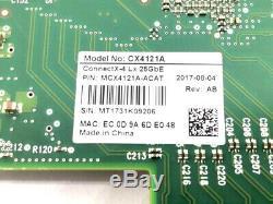 ConnectX -4 Lx EN 50Gb/s Ethernet Adapter Card Dual 25Gb/s SFP28 PCIe3.0 x8