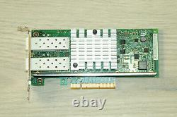 DELL Intel X520-DA2 Network Card Dual Port 10GB BASE-X PCIe 942V6 1YrWty TaxInv