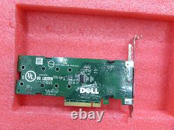 DELL M. 2 PCI-E 2X SOLID STATE STORAGE ADAPTER CARD 0NTRCY With1TB SSD NVME T7-B2