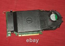 Dell 6N9RH Ultra Speed Drive Quad NVMe Adapter M. 2 PCIe Card (no SSDs) T7910