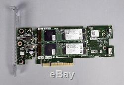 Dell BOSS-S1 M. 2 SSD PCIe adapter card with 2x 120 Gb SSD 51CN2