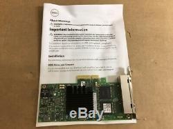 Dell Intel Server Adapter i350-T4 Quad 1000 Base T Ethernet Card 540-BBDV
