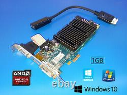 Dell OptiPlex 7010 7020 9010 9020 TOWER DVI VGA DP Video Card, HDMI Adapter PCIe