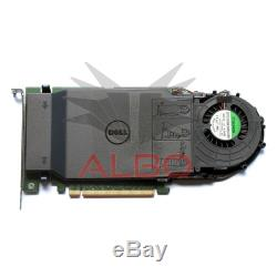 Dell Ultra-Speed Drive Quad NVMe M. 2 PCIe x16 Card P/N 80G5N (Adapter Only)