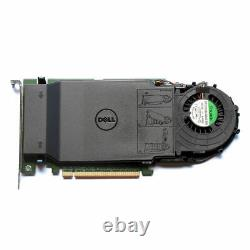 Dell Ultra-Speed Drive Quad PCIe x16 Adapter Card Up to 4x NVMe M. 2 P/N 80G5N