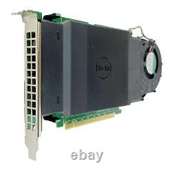 Dell Ultra-Speed Drive Quad PCIe x16 Adapter Card Up to 4x NVMe M. 2 Refurbished