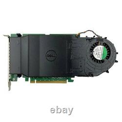 Dell Ultra-Speed Drive Quad PCIe x16 Adapter Card Up to 4x NVMe M. 2 SSD Support