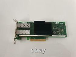 Dell X710-DA2 Dual Port Fiber Optic SFP Network Adapter Card 05N7Y5 5N7Y5