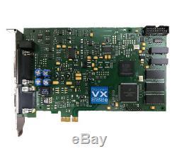 Digigram VX222e PCIe Professional Broadcast Digital Audio Adapter Card
