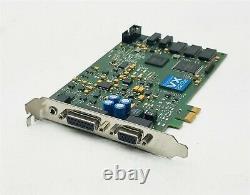 Digigram VX222e PCIe Professional Broadcast Digital Audio Sound Adapter Card