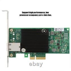 For Intel X550-T1 Main Control Chip PCI-E Ethernet Server Network Adapter Card G