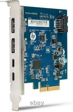 HP 3UU05AA Dual Port Add-in-Card Thunderbolt Adapter PCIe Thunderbolt 3X2
