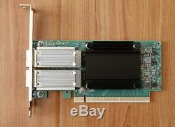 HP Mellanox CX556A ConnectX-5 VPI InfiniBand & Ethernet Adapter Card QSFP28