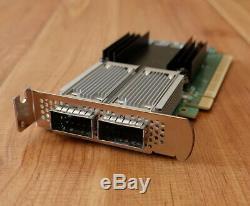 HP Mellanox CX556A ConnectX-5 VPI InfiniBand & Ethernet Adapter Card QSFP28 Low