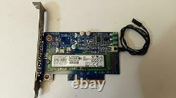 HP PCI-e To M. 2 Adapter Card 742006-002 with 256GB M. 2 SSD 759770-001