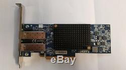 IBM 10GB Dual Port PCI-E Emulex FC Ethernet adapter FRU 49Y4202 no transceivers