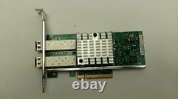 Intel Dell X520-DA2 10GB Dual Port Ethernet Adapter SFP+ PCIe Network Card