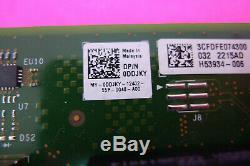 Intel X710-DA4 10Gb SFP+ PCIe x8 Network Adapter Card Dell DDJKY