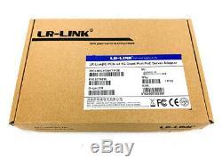 LR-Link LREC9724HT-POE 1G 4-Port PoE PCIe x4 Ethernet Server Adapter Card SFF