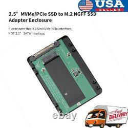 M. 2 NGFF to Desktop NVMe/PCI-E SSD Converter Express Adapter Card f/ Desktop PC