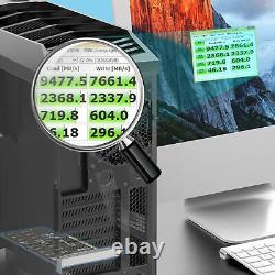 M. 2 NGFF to Desktop PCIe 3.0 x16 NVMe SATA 4Bay SSD PCI Express Adapter Card US