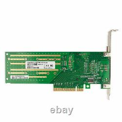 M Key M. 2 NVMe/NGFF SSD to PCI-E X8 Adapter Card PEX-8724 Controller Bifurcation