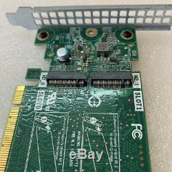 NEW Dell SSD M. 2 PCIe x2 Solid State Storage Adapter Card 0JV70F JV70F