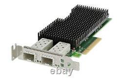 New Dell Intel XXV710-DA2 Dual Port 25Gb SFP28 Network Adapter Card 00M95 000M95