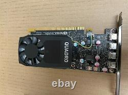 New HP NVIDIA QUADRO P620 2GB PCIe Graphics Card with 2 x Adapters