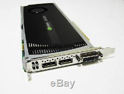 Nvidia Quadro 4000 PCIe Graphics Card with Drivers & Adapter Excellent Condition