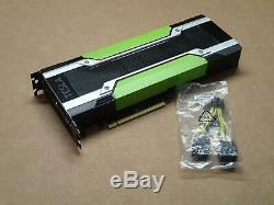 Nvidia Tesla K80 GPU Accelerator 24GB GDDR5 PCI-E Graphics Video Card with Adapter