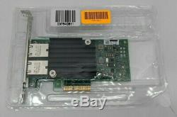 Open Box Dell 04V7G2 Intel X550-T2 PCIe Network Adapter Card QS0436