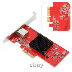 PCI-E SFP 10 Gigabit Ethernet Server Network Card Adapter RJ45 10G for Desktop