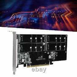PCIe NVMe M. 2 SSD To PCIe3.0 X16 4Bay Extender Converter Adapter Expansion Card