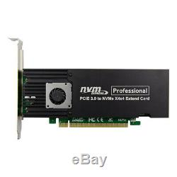 PCIe x16 ASM2824 to 4 port M. 2 NVMe SSD Adapter expansion card mkey nvme to pcie