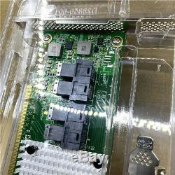 PLX NVMe adapter card PCIe3.0 X16 to 8-port built-in 8643 interface to U. 2 NVME
