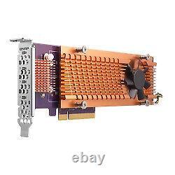 QNAP QM2 interface cards/adapter M. 2 Internal QM2-4P-284 PCIe, NVMe, 4 x M. 2