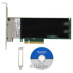 Quad 10Gbps RJ45 Network Card PCI-E3.0 Network Adapter for PC Desktop for Intel