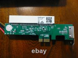 RME HDSP 9652 withexpansion board, hard to find AEB4-I AEB4-O cards, PCIe adapter