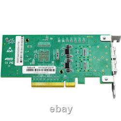 RP1000 Dual Port 10Gb SFP+ PCIe x 8 network card = X520-DA2 Ethernet ADAPTER