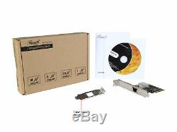 Rosewill 10GEthernet Network Adapter Card, 10GBASE-T 5-Speed RJ45 PCIe NIC Card