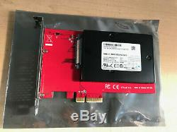 Samsung Enterprise PM983 2.5 960GB PCI-E 3.0 MLC NVMe with U. 2 adapter card