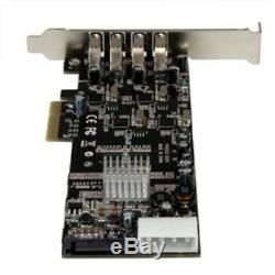 StarTech I/O Controller PEXUSB3S44V 4Port Quad Bus pci-e USB3.0 Card Adapter