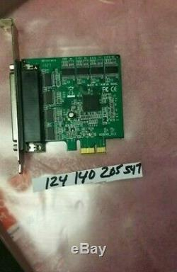 StarTech PEX8S952 8-Port Native PCIe x1 RS232 Serial Adapter Card witho Cable